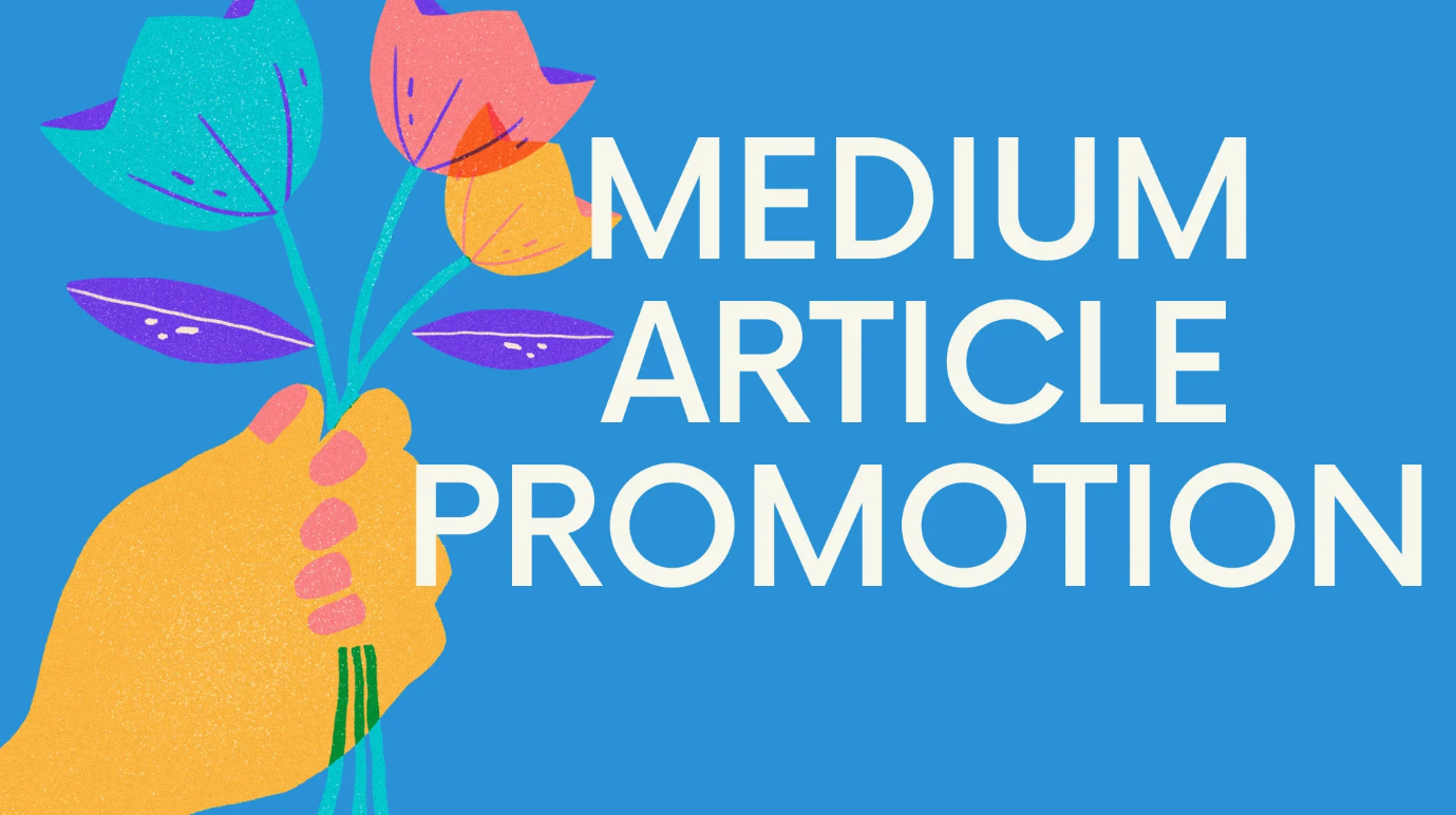 Share and reshare your medium article ontop social media