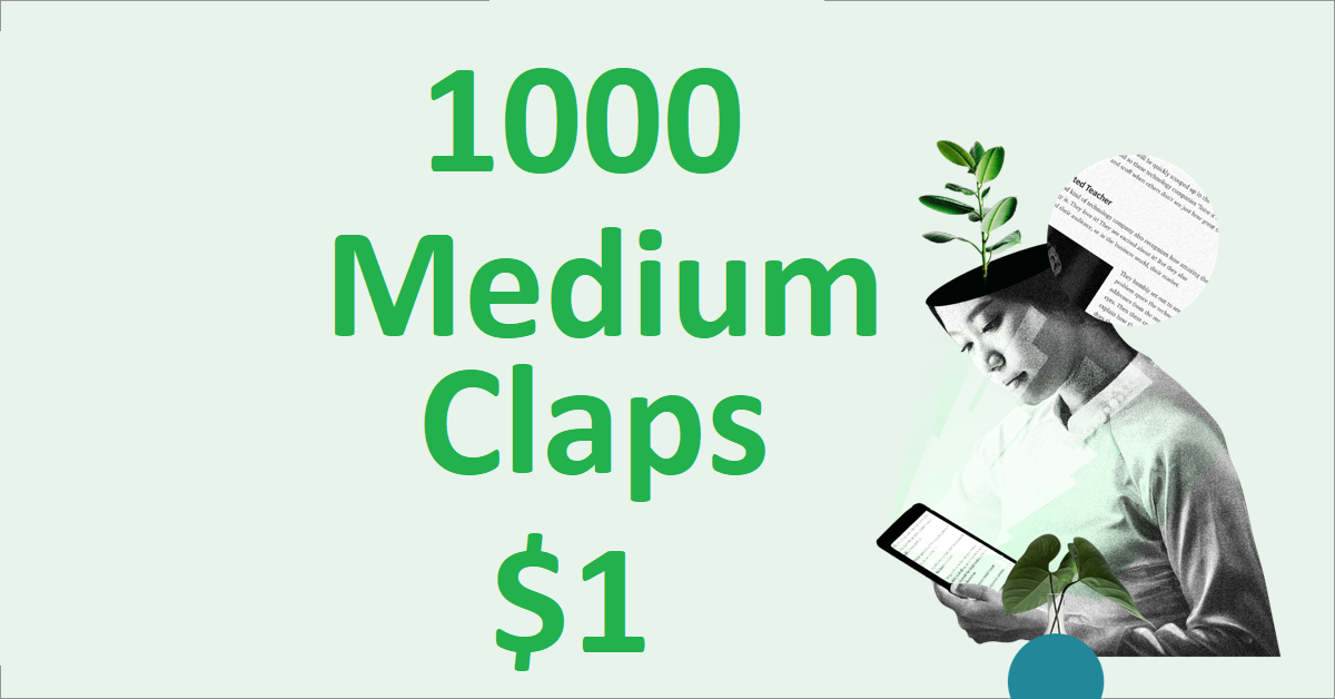1000+ Random USA Excellent Medium Claps To Your Article
