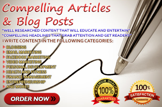 MARVELLOUSLY WRITE YOUR UNIQUE ARTICLE OF 1000 WORDS for $5