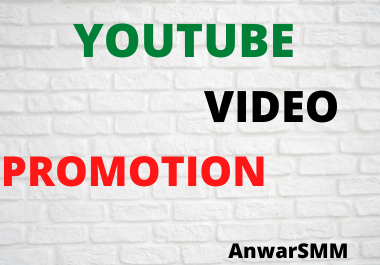 Best YouTube video promotion & social marketing