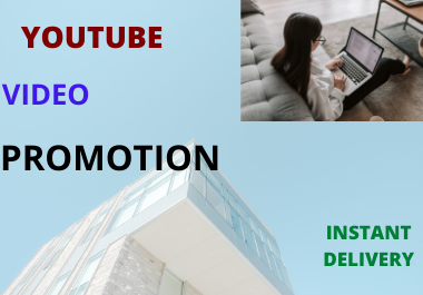 very fast YouTube video promotion instant delivery