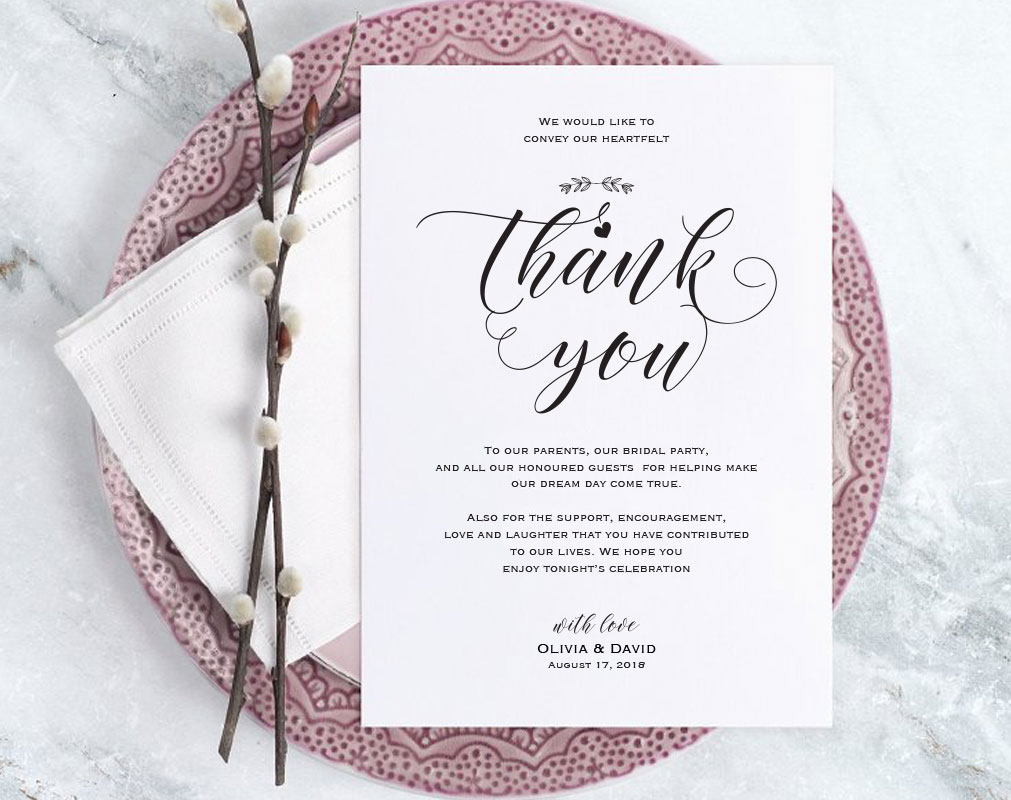 Wedding Invitation Template Services