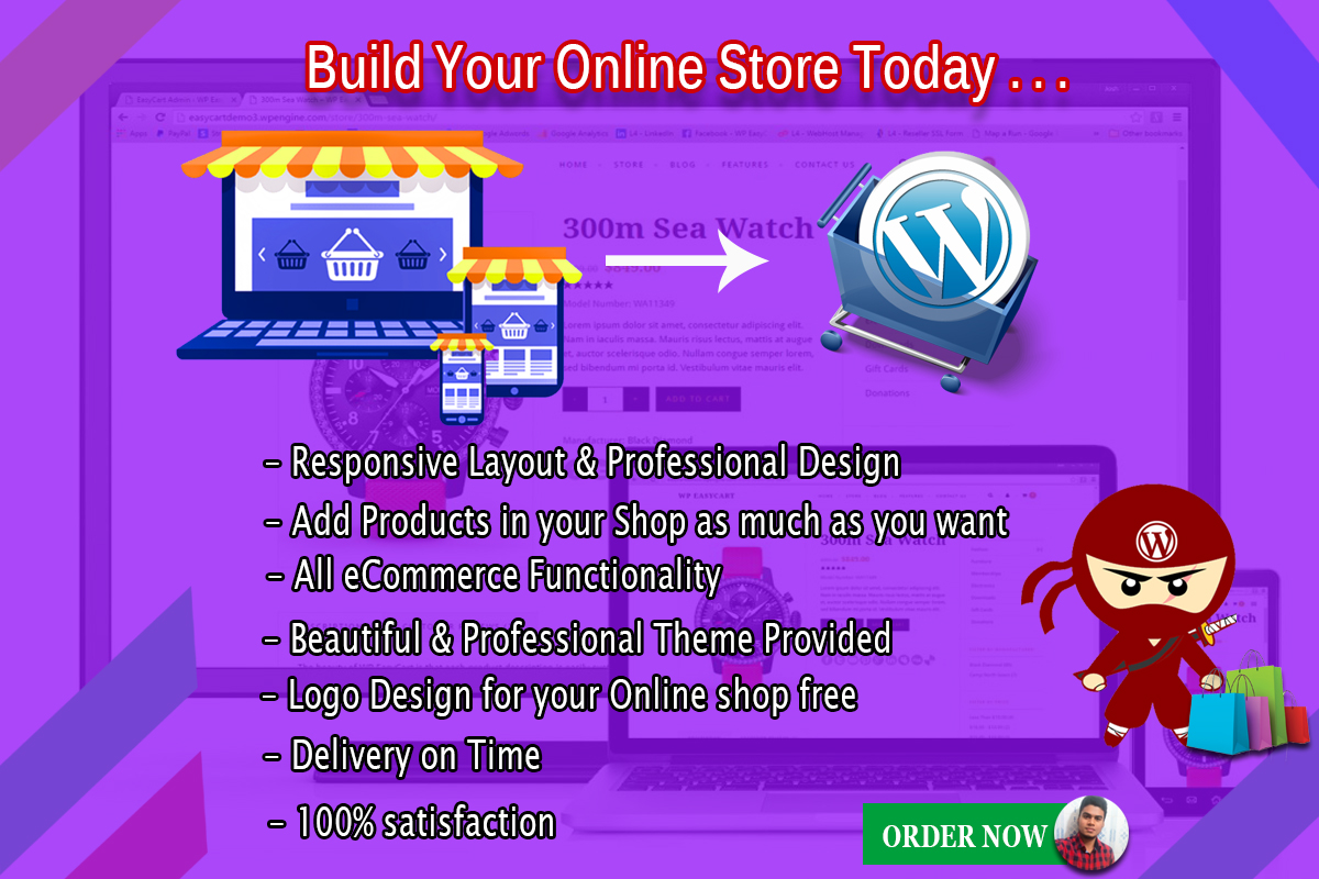 I'll Build Your eCommerce Website Today