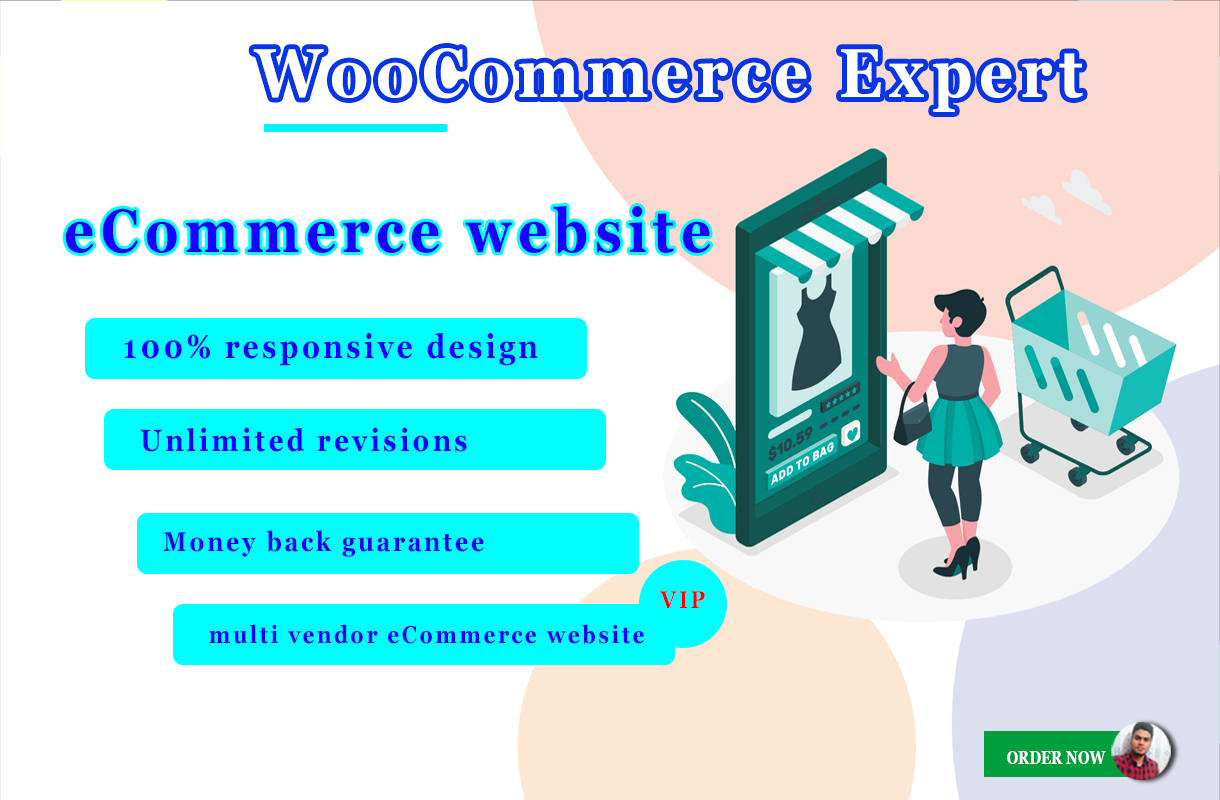I'll Build SEO Friendly eCommerce Website