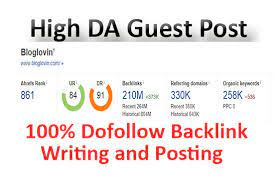 publish Guest Post on bloglovin. com DA 93 and PA 74