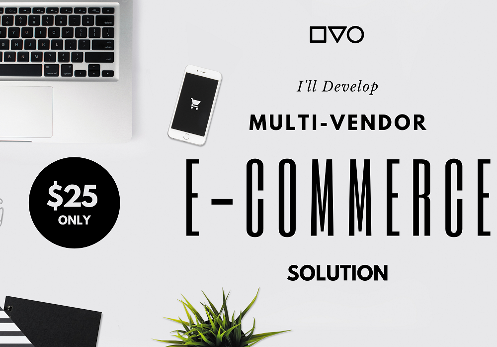 I'll Develop Multi-Vendor E-Commerce Solution