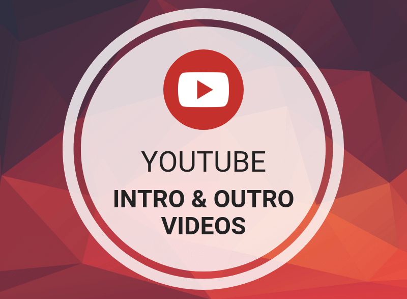 I will do attractive youtube intro,  outro video or animated logo
