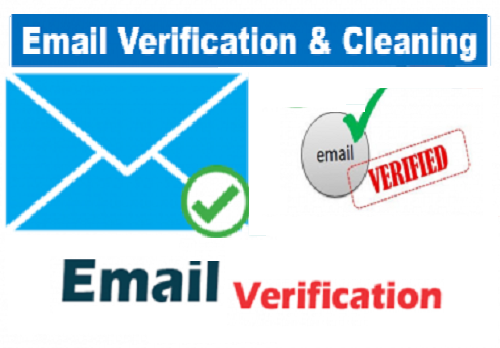 I Will do email verification and list cleaning services + BONUS