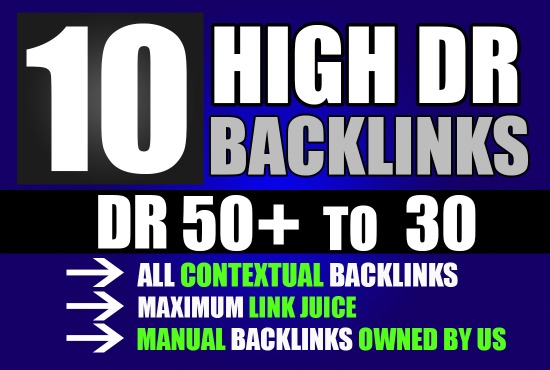 Build 10 HIGH DR DO-follow permanent homepage PBN backlinks