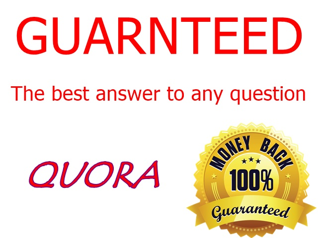 Targeted traffic with 50 high quality Quora answers
