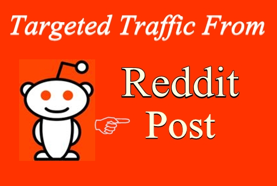 Powerful 5 Reddit Post On Your Link with Different Reddit Ranking 1st