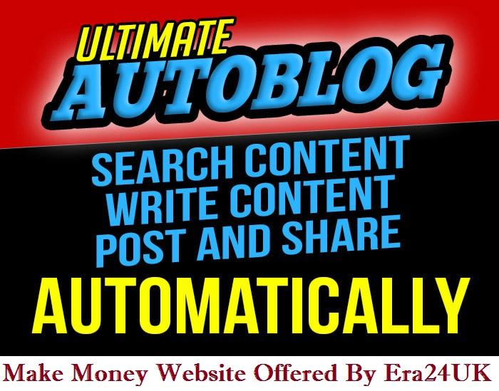 Adsense Ready Unique Content WordPress Auto-blogging Website 2021