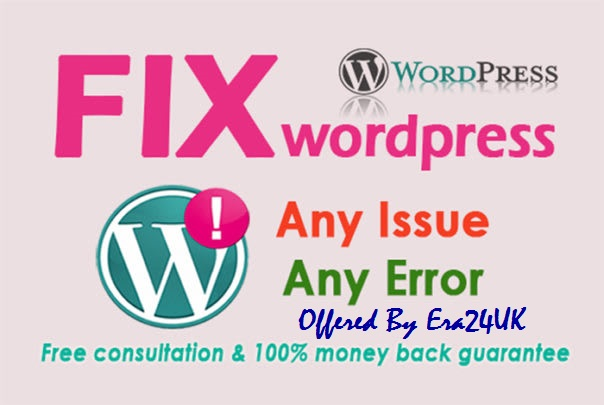 Fix Errors,  Update,  Backup,  Clone,  Migrate,  Bugs Fix,  Indexing WordPress Website
