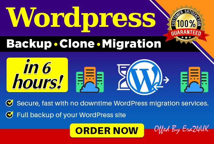 Migrate WordPress Site Transfer To Another Hosting,  Domain,  Sub Domain