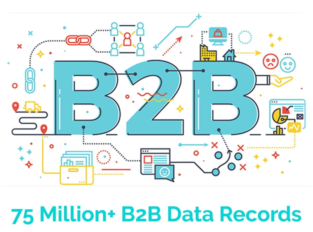 10,000 B2B Data Records By location & Profession