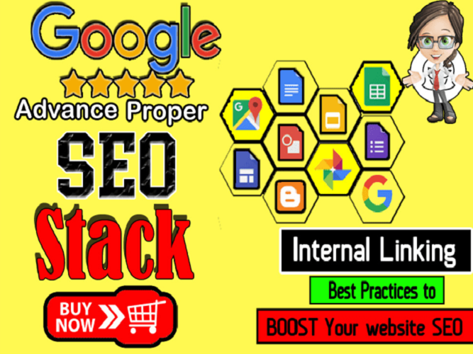 Improve Website Authority Proper SEO Google Stack Links Building