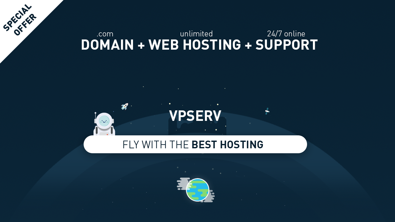 Domain + Web Hosting + 24/7 Support