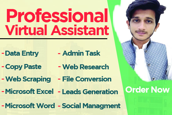 Do Data Entry,  Leads Generation and Copy Paste Work