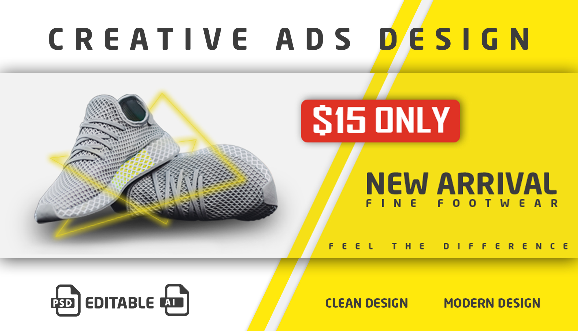I will design eye catchy ads for your business or social media