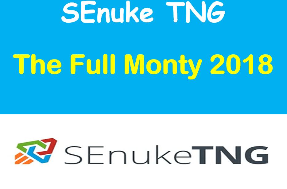SEnuke TNG -The Full monty 2018-Campaign HQ Backlink