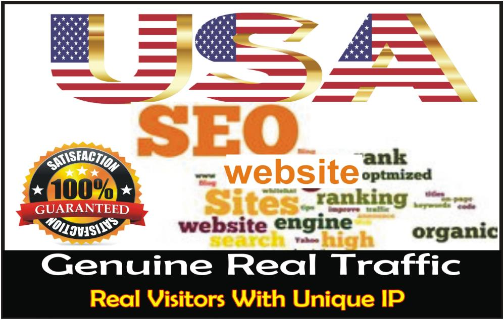 boost website ranking, keyword, niche targeted USA web traffic