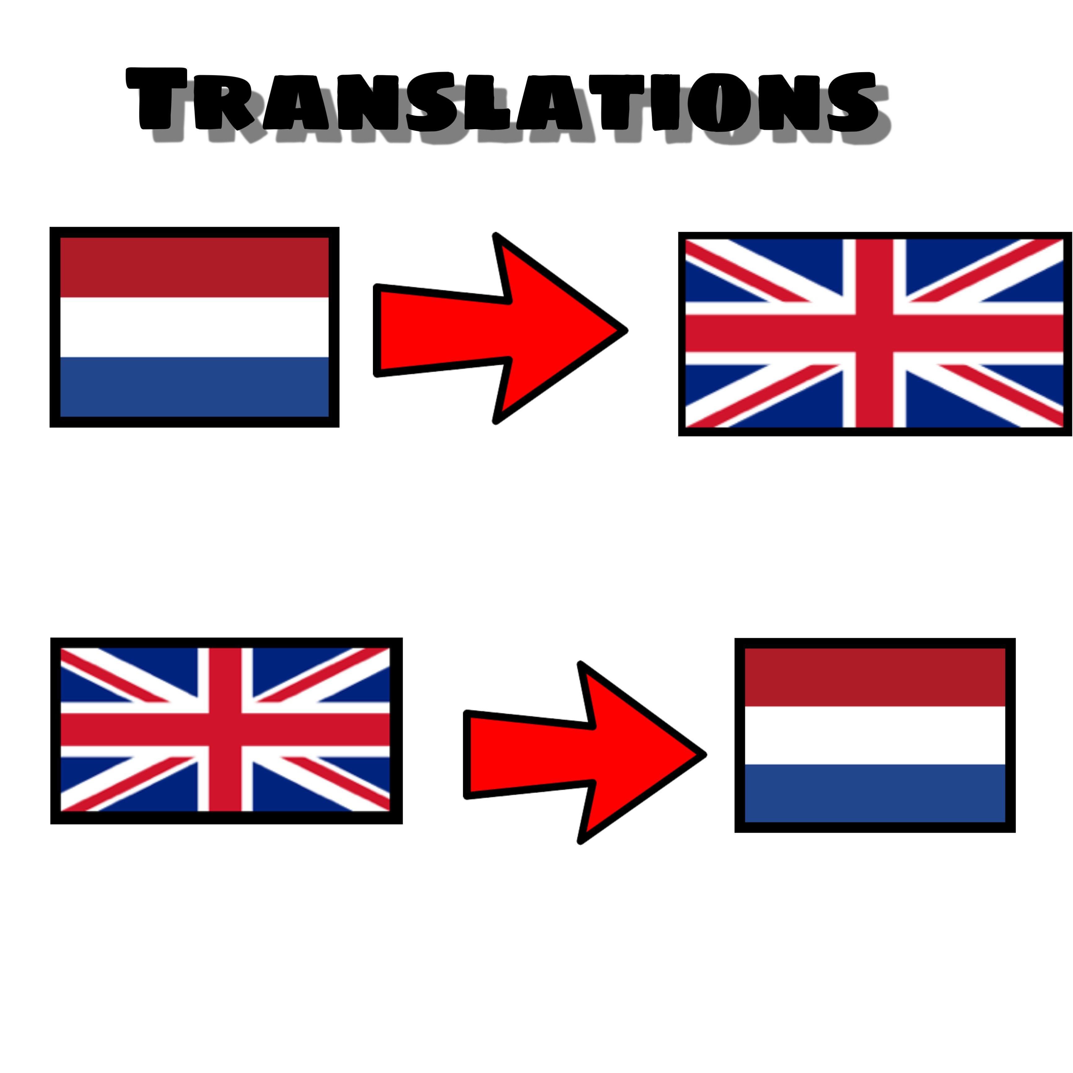 I will translate from English to Dutch and vice versa