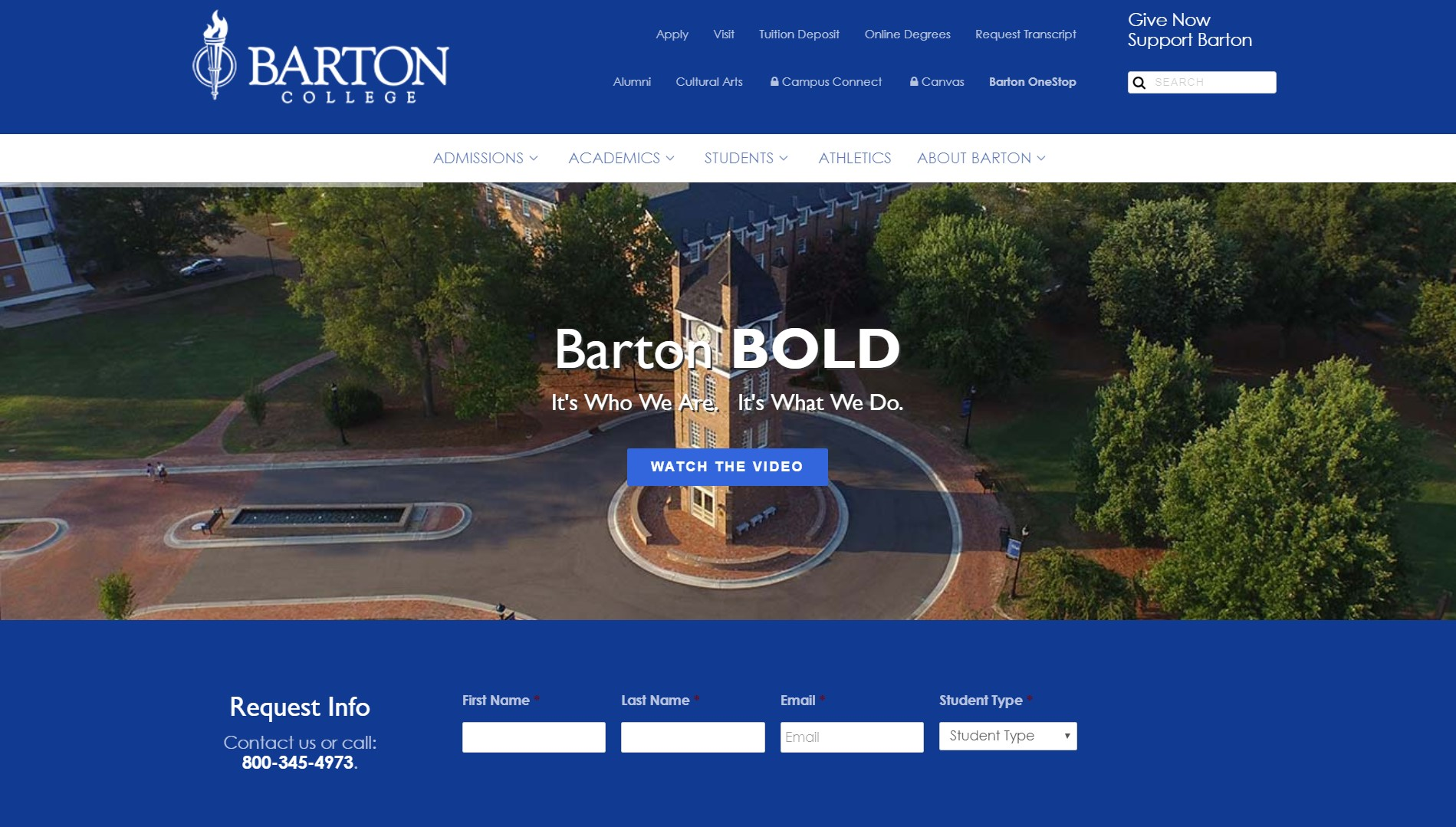 Guest Post on a Edu Website,  DA45 - Barton. edu