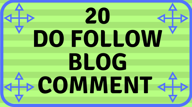 Do 20 High Da Pa Blog Comment With Low Obl Links
