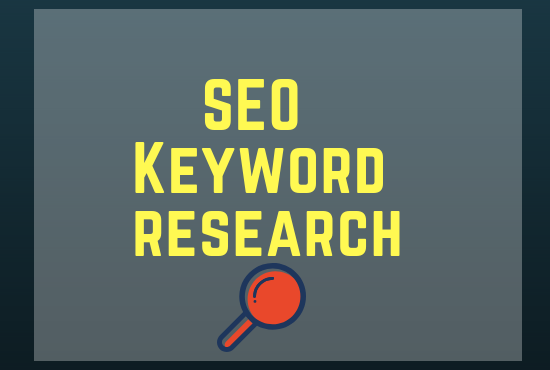 Keyword research for your business website
