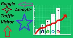 500,000 worldwide website real traffic visitor & adsense safe & Google ranking factor