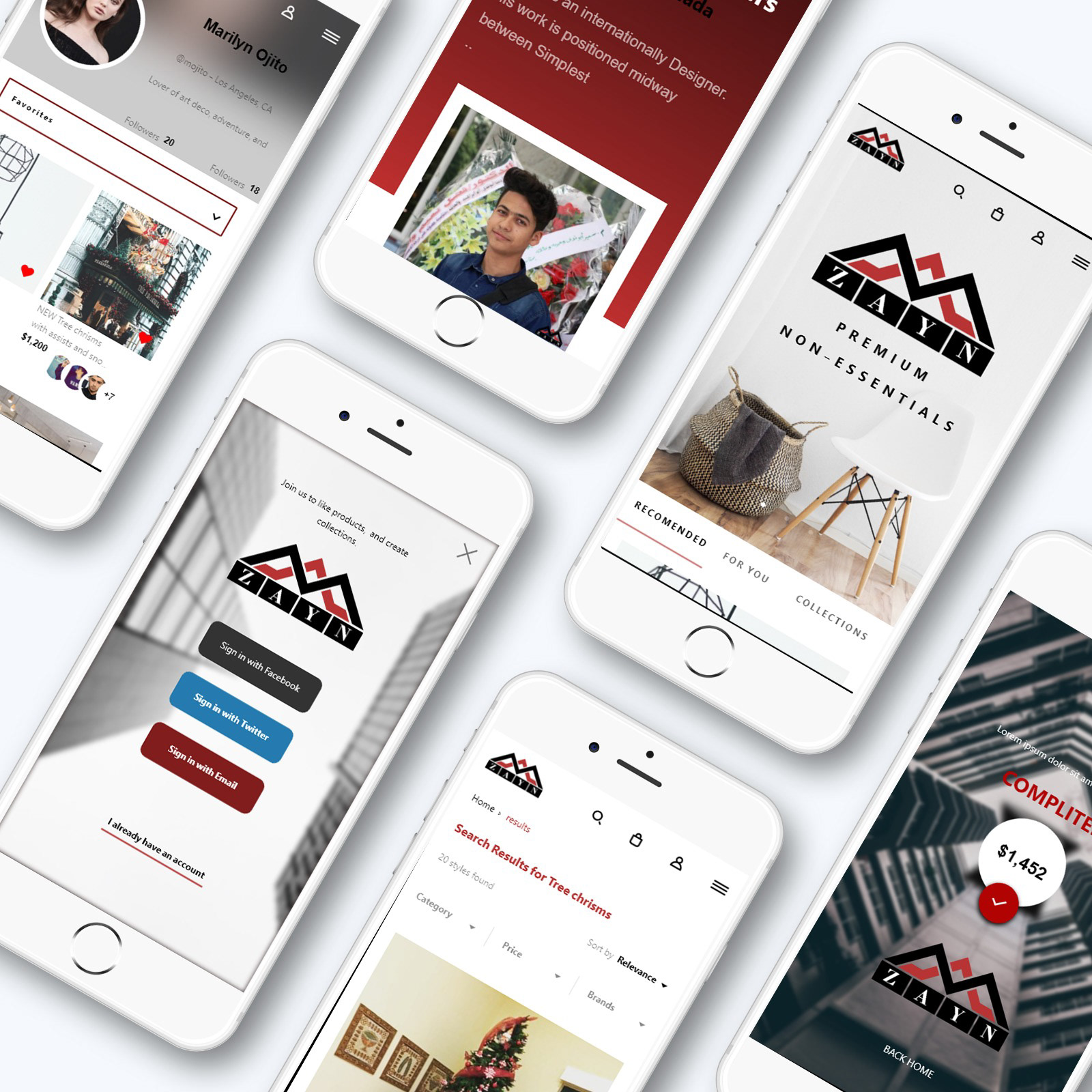 Mobile app Store - Web mobile store