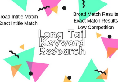 Provide 400 low competitive long tail keywords