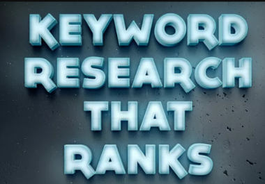 Do Keyword Research with free audit