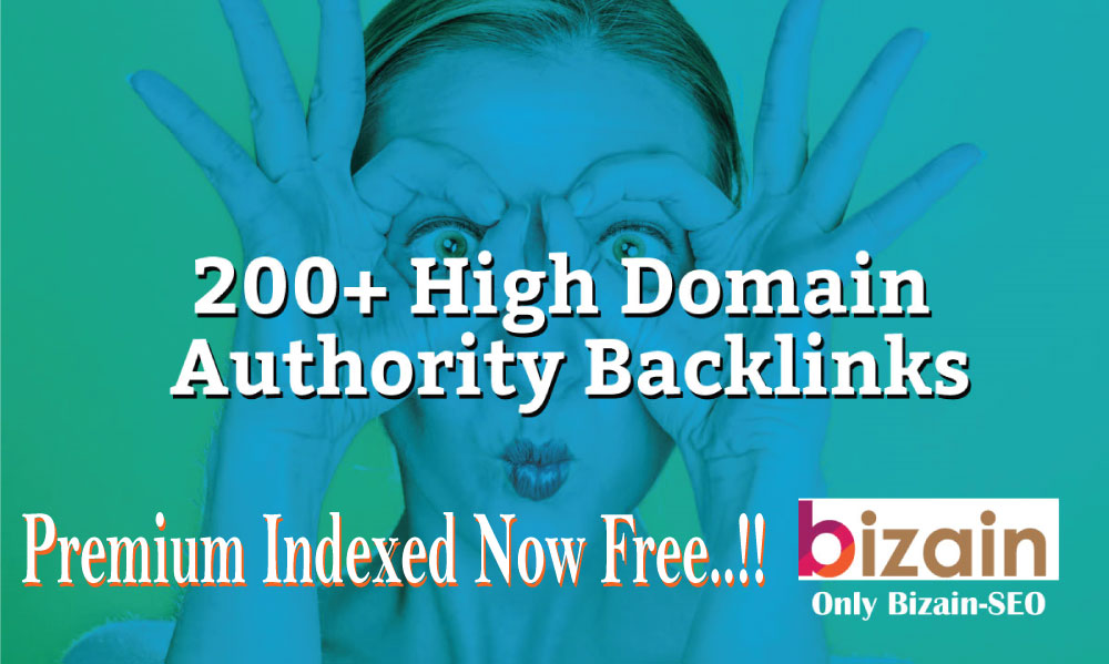 TOP-I Will Create Over 200+ Backlinks On High Domain Authority Backlinks & links my premium Indexer