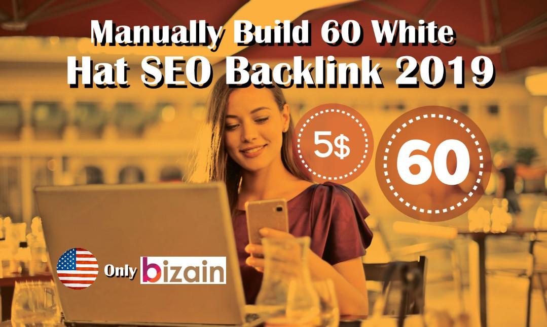 Create Manually 60 Pr9 High Quality SEO Backlinks DA 80-100-White Hat