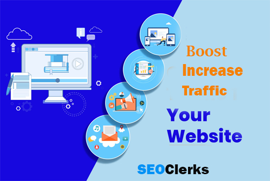 boost instant HUMAN traffic your website 5K
