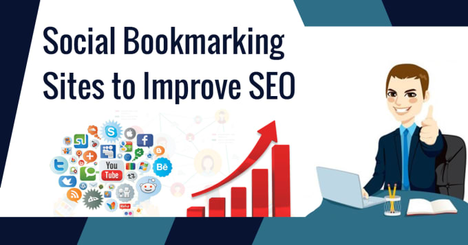 51 plus social bookmarking manually white hat SEO backlink service