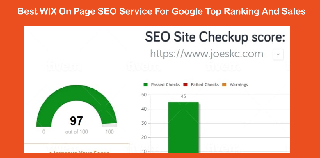Best wix On Page SEO service for google top ranking and sales