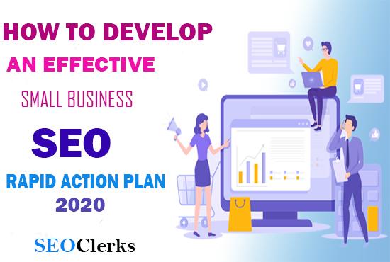 SEO RAPID ACTION PLAN Google Update 2020
