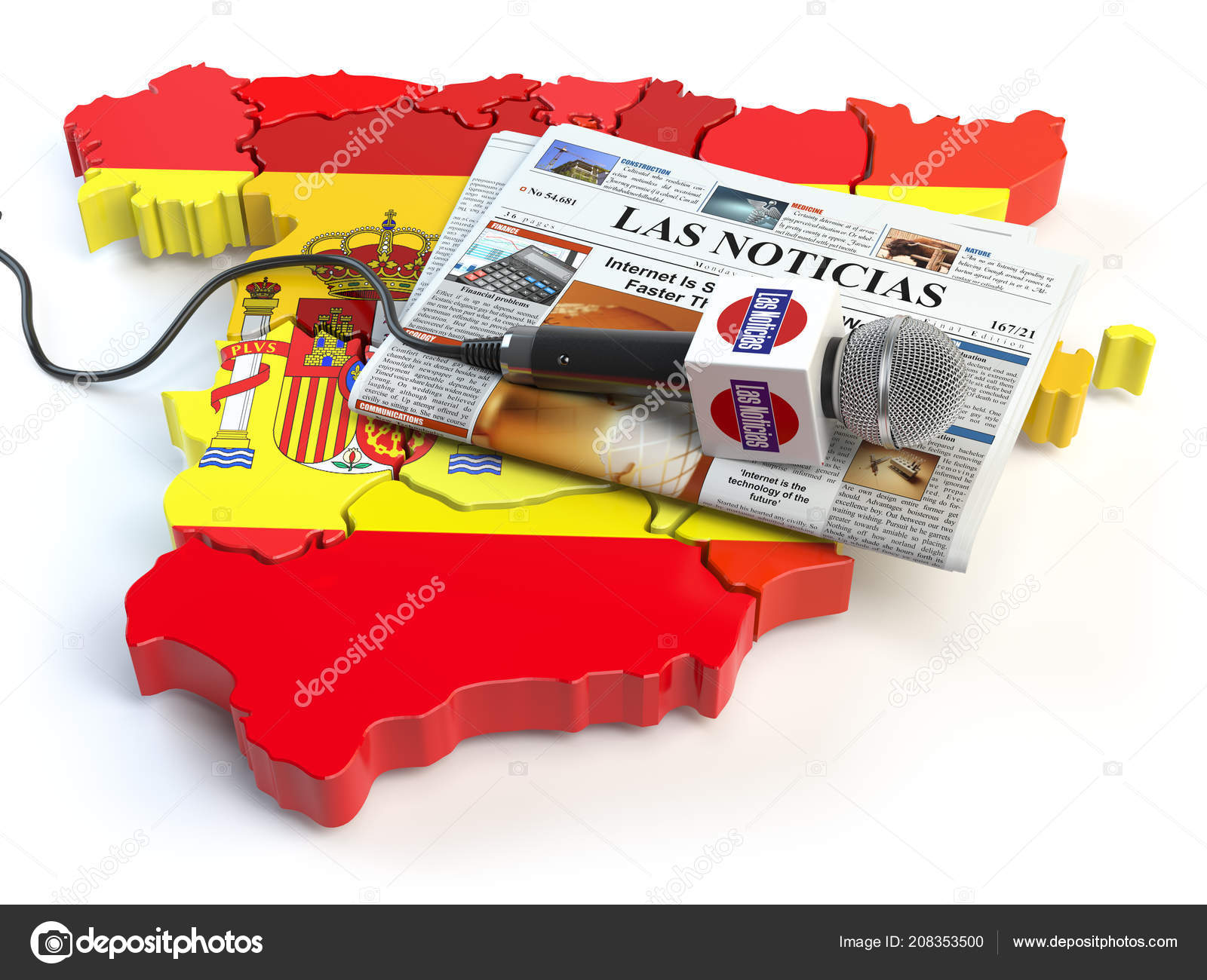 Publish your post in a newspaper in Spain