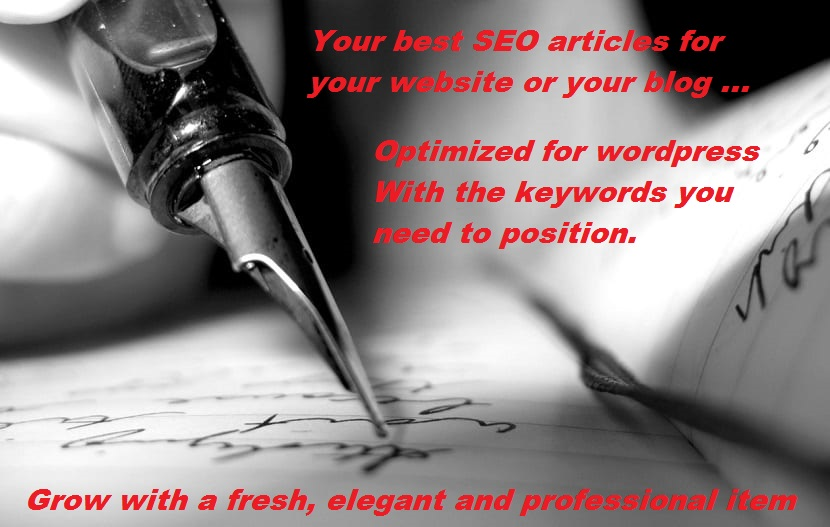 SEO articles for your blog or your website - PACK´S