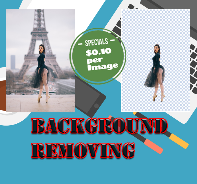 REMOVE 10 IMAGE BACKGROUND PROFESSIONALLY AND FAST