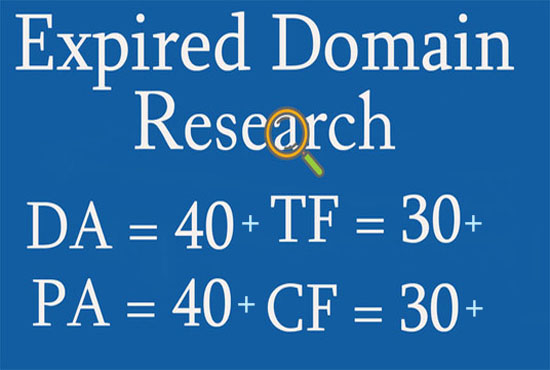 I can research you for a better quality expired domain.