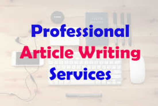 well researched and 500 word quality article or blog