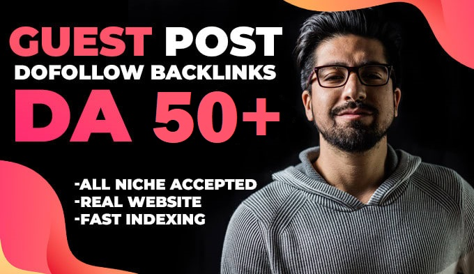 I Will Publish 5 Niche Relevant Guest Post on DA50+ for Real Traffic Site