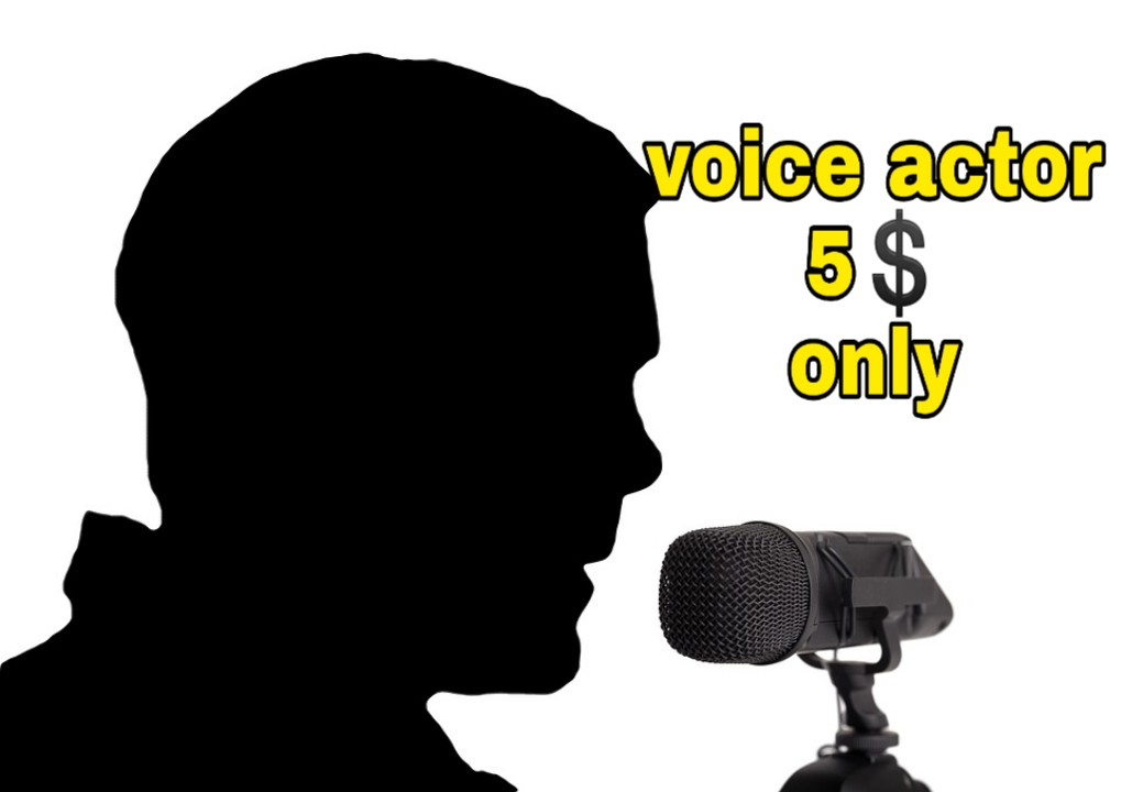 i will record voice of youtube videos, animation or cartoon