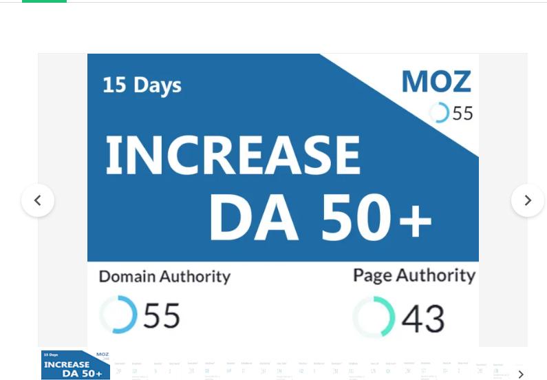 I will increase domain authority moz da rank 50 plus