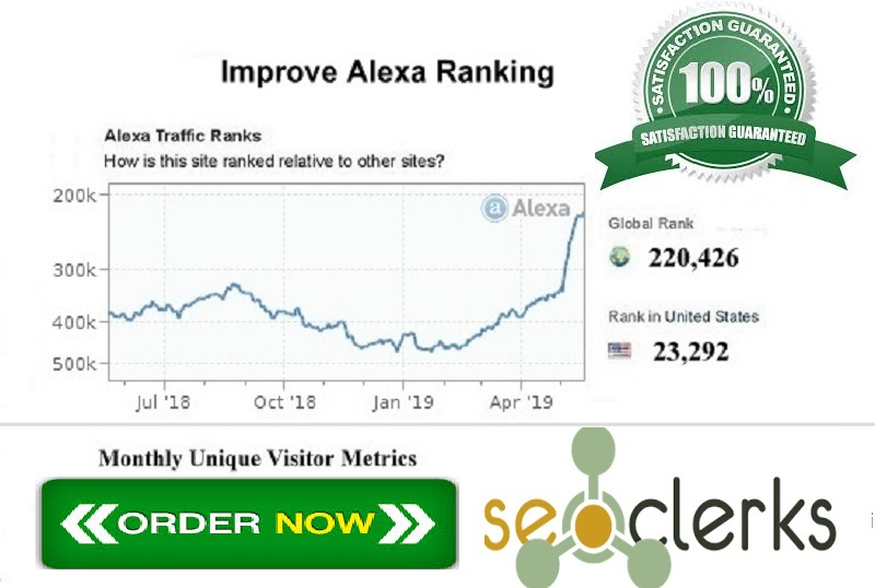 I Will Improve USA Alexa Ranking Below 19k and global alexa ranking below 199k