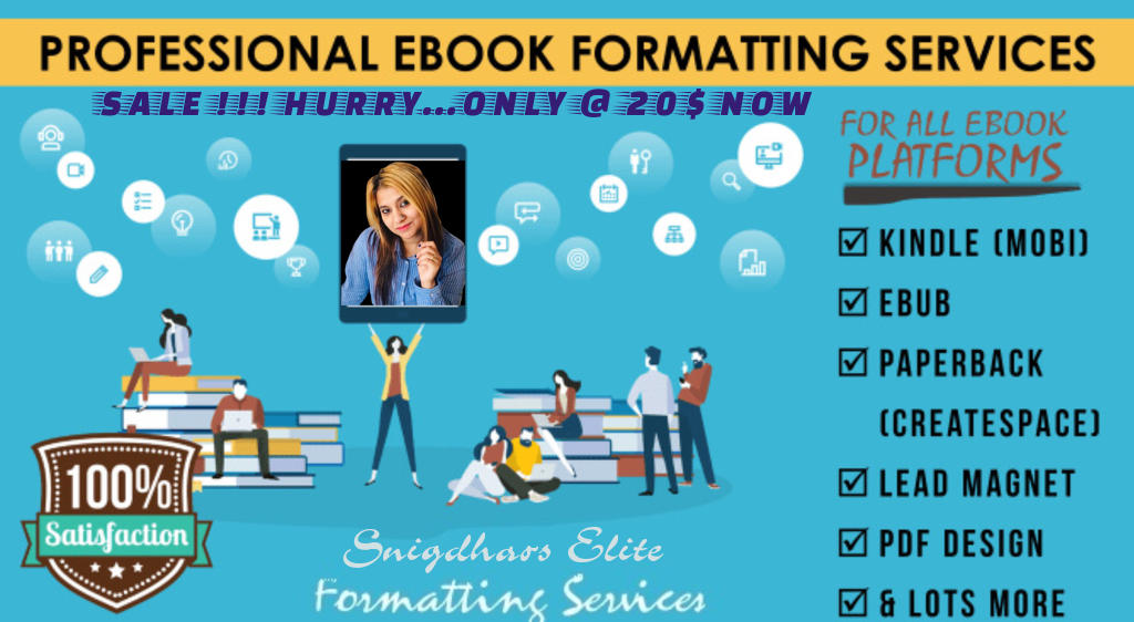 E-Book Formatting and conversion for Kindle, Android with Clickable TOC