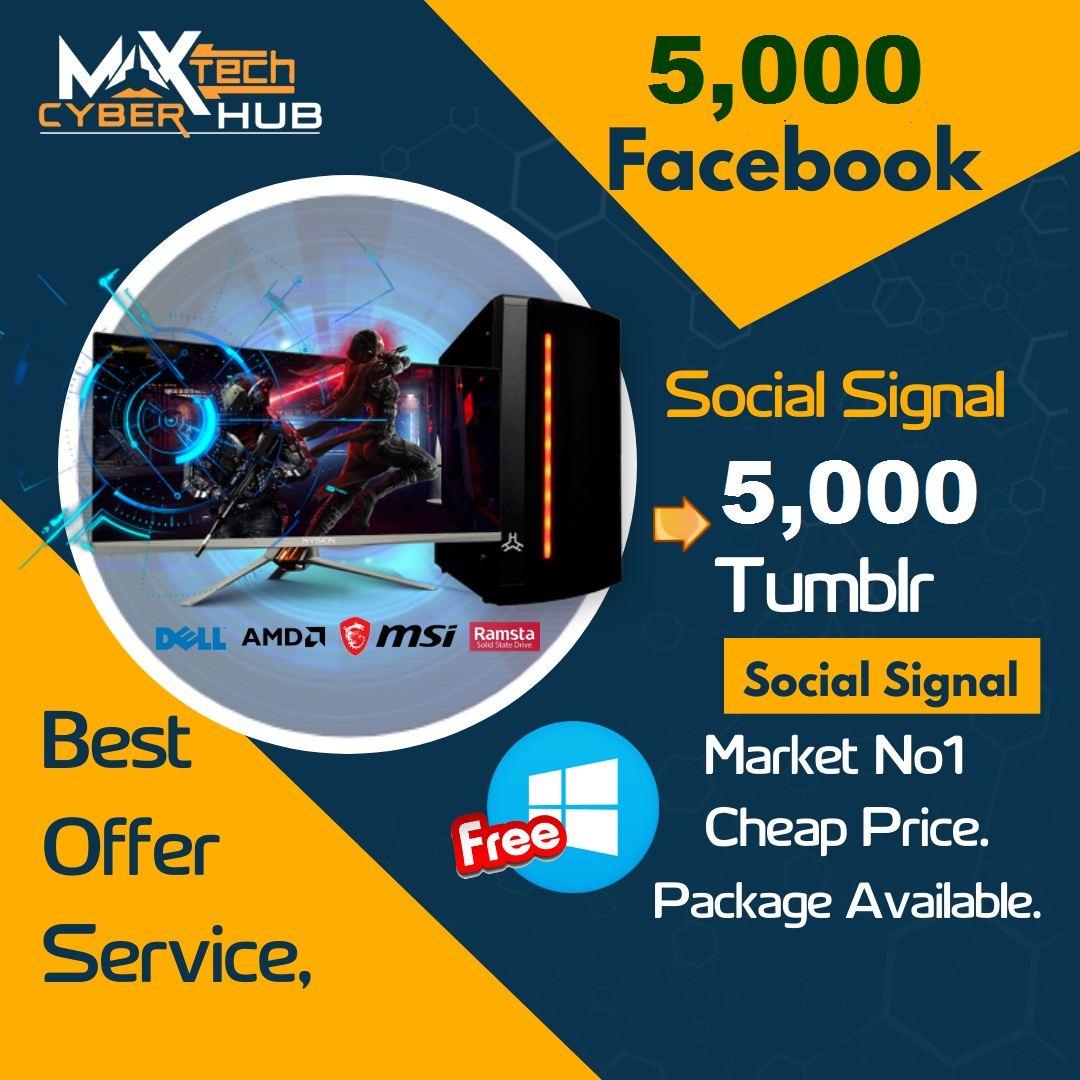 Powerful Top Platform 5,000 Facebook Or 5,000 Tumblr Social Signal Bookmark For SEO 1st Page Google